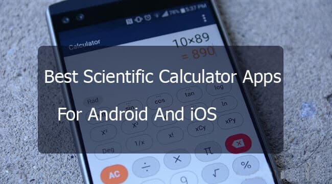 Best Scientific Calculator App