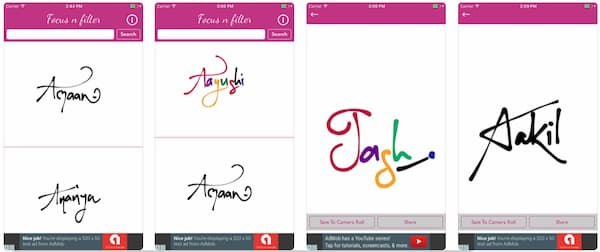 calligraphy font app