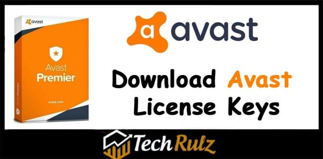 Download Avast License Keys