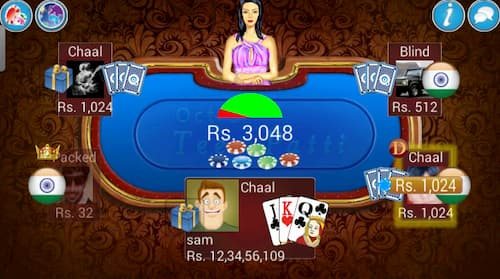 Teen Patti Free Unlimited Chips