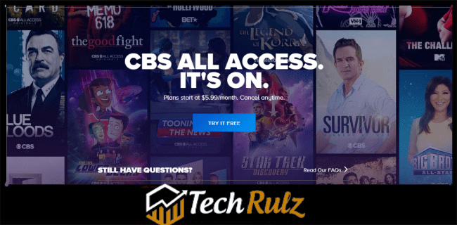 How to Cancel CBS All Access