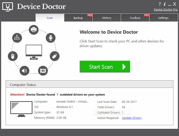 driver updater software freeware