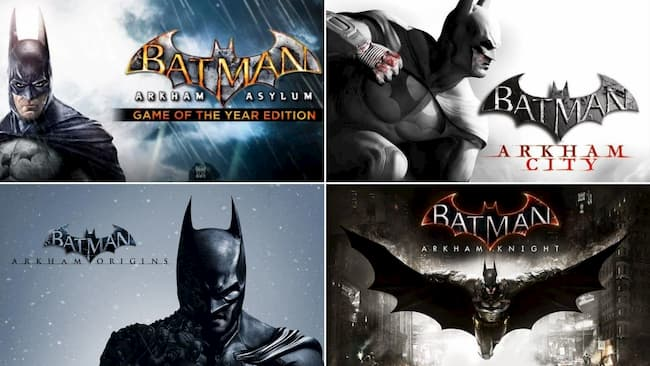 batman games in order