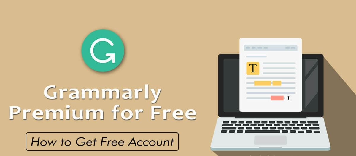 Grammarly premium free trial account