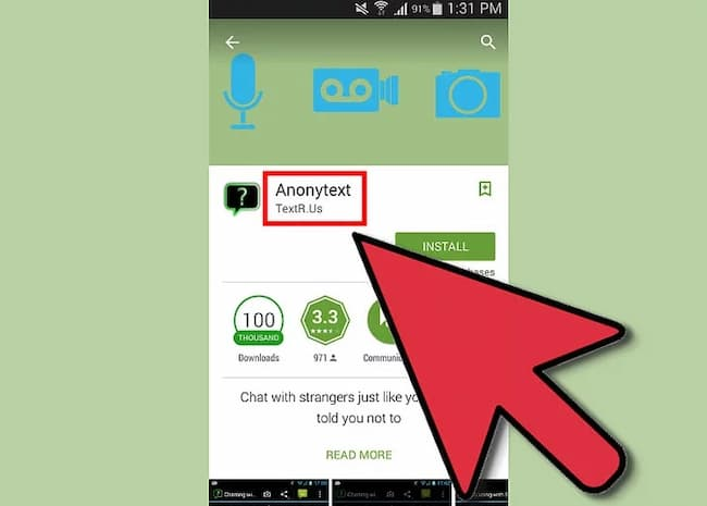Send Anonymous Text Messages via Android Apps