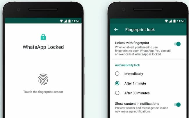 how to lock whatsapp on iphone and android