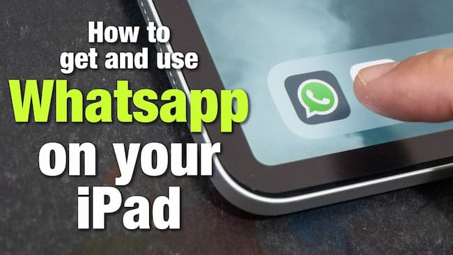how to use whatsapp on ipad without jailbreaking