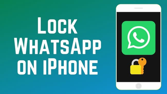 how to lock whatsapp on iphone