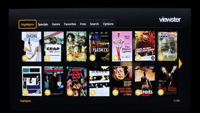 list of movie streaming apps