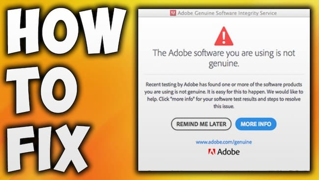 adobe genuine software integrity service