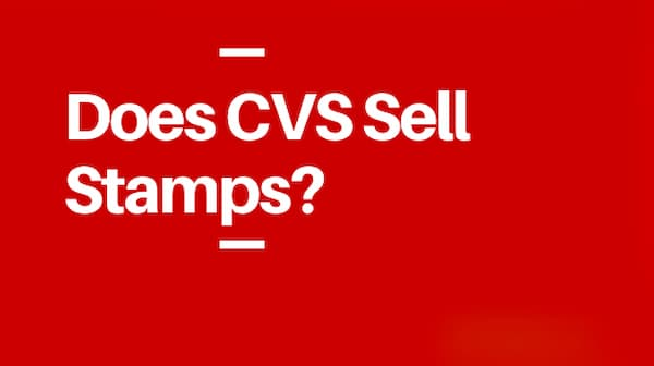 does cvs sell stamps