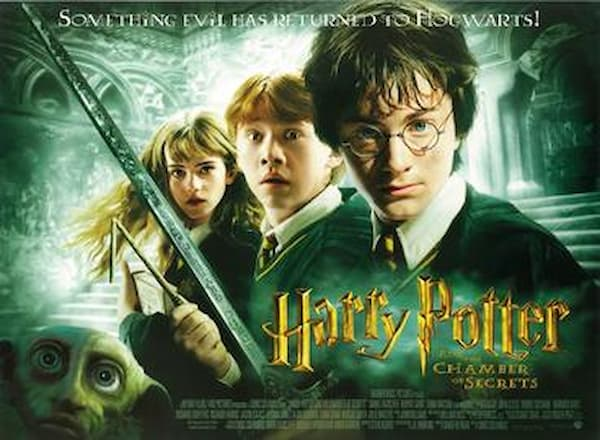 harry potter movies in order list