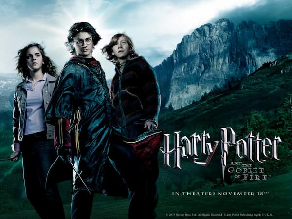 harry potter movies in order of release