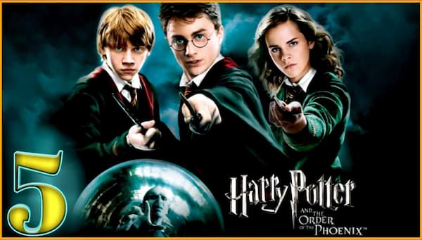 harry potter movies streaming